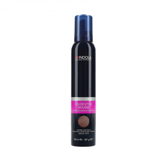 Indola Color Style Mousse Schiuma colorante per capelli 200 ml
