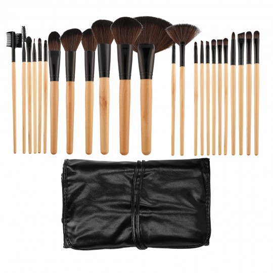 MIMO by Tools For Beauty, Set Pennelli Makeup Viso 24 Pezzi