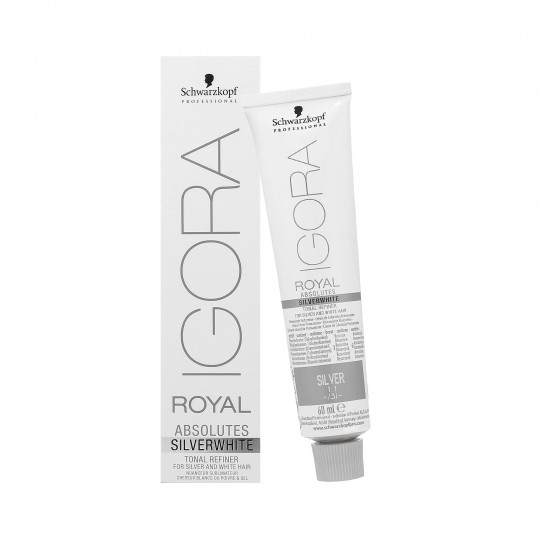 Schwarzkopf Professional Igora Royal Absolutes Silver White Colorazione per capelli grigi 60 ml - 1