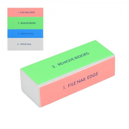 Buffer lucidante multicolore grana fine - 1