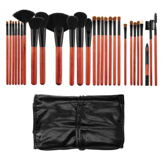MIMO by Tools For Beauty, Set Pennelli Makeup Viso 28 Pezzi