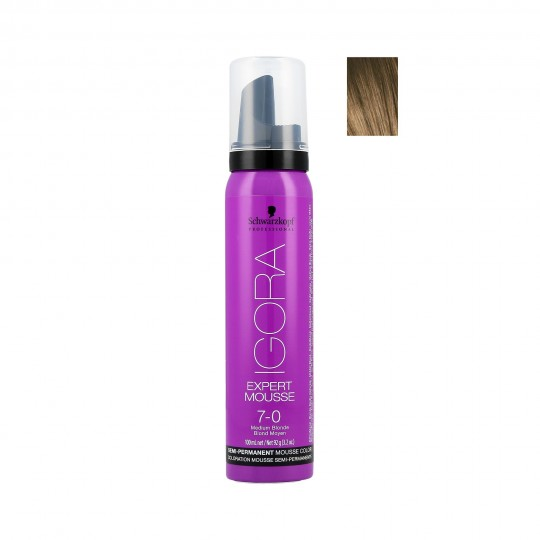 Schwarzkopf Professional Igora Expert Mousse Colorazione semi-permanente 100 ml