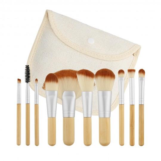 Set 10 pennelli makeup