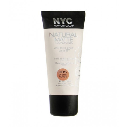 New York Color Natural Matte Foundation Fondotinta opacizzante 30 ml