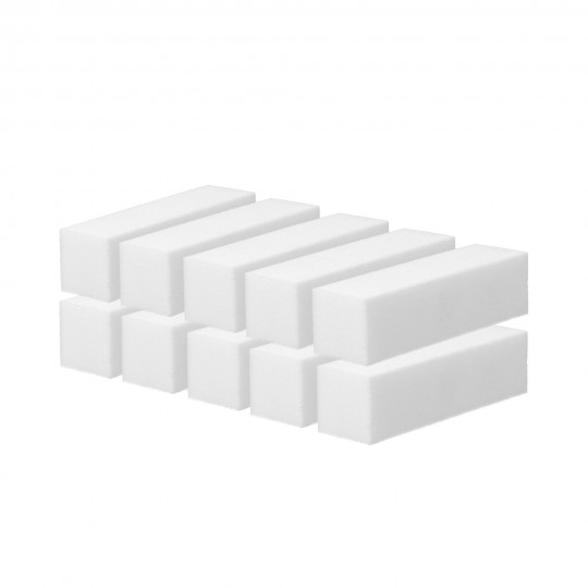 Buffer lucidante unghie bianco set 10 pezzi - 1