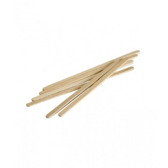 Eko - Higiena Bastoncini in legno piccoli per ceretta 100 pezzi