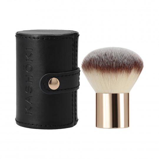 Kashōki 200 Pennello Piatto Kabuki Per Cosmetici In Polvere - 1