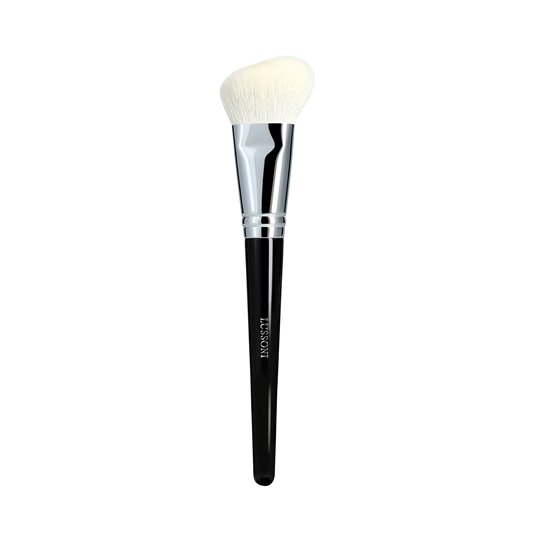 LUSSONI PRO 300 Angled Blush Brush Pędzel do różu