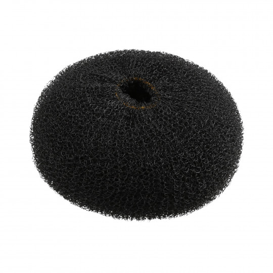 LUSSONI Ciambella per chignon nero 110 mm - 1