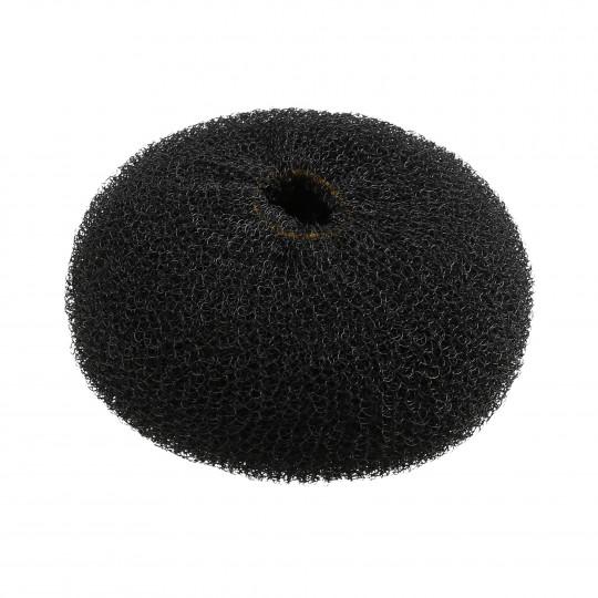 LUSSONI HR ACC HAIR BUN RING BLACK 110MM