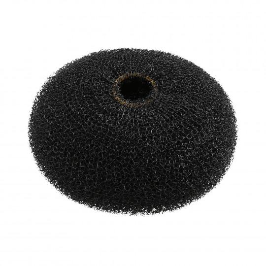 LUSSONI Ciambella per chignon nero 90 mm