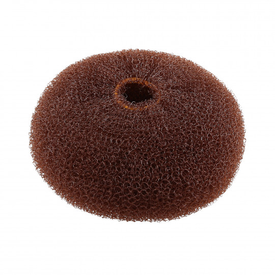 LUSSONI HR ACC HAIR BUN RING BROWN 110MM