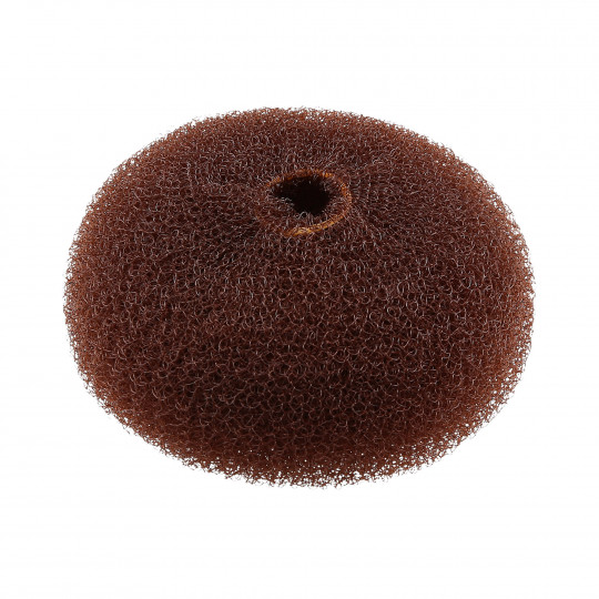 LUSSONI HR ACC HAIR BUN RING BROWN 90MM