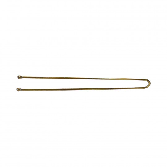 LUSSONI by Tools For Beauty, Fermacapelli Forcine a U Dritte, 6,5cm, Oro, 300 Pezzi - 2