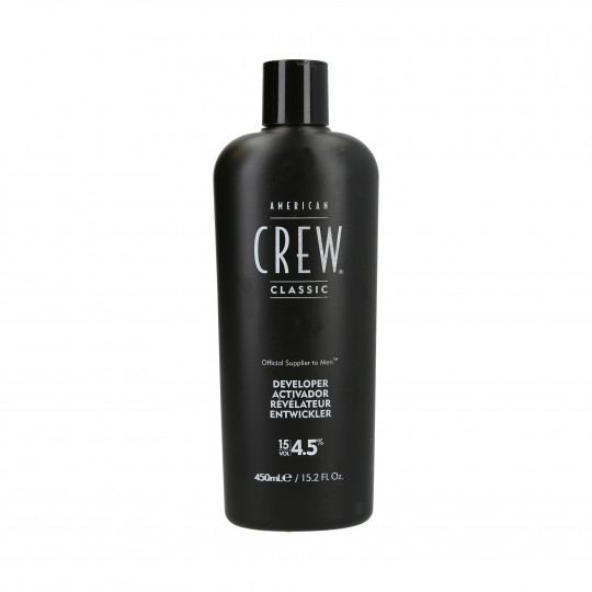 AMERICAN CREW Precision Blend Ossidante 4,5% (15 Vol.) 450ml - 1