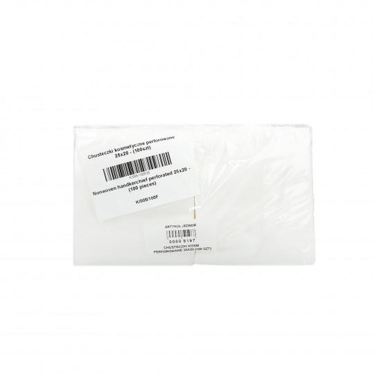 EKO-HIGIENA Rotoli / fazzoletti cosmetici forati 25x20cm 100pz. - 1