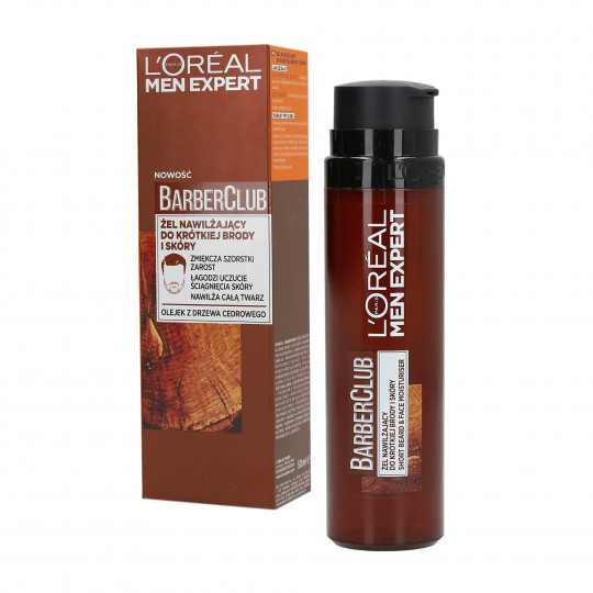 L'OREAL PARIS MEN EXPERT BARBER CLUB Gel Da Barba Corta E Pelle 50ml - 1