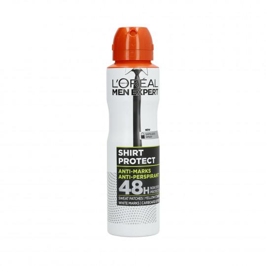 L'OREAL PARIS MEN EXPERT Shirt Protect Spray antitraspirante 150ml