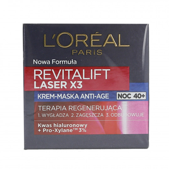 DERMO EXPERTISE REVITALIFT LASER X3 NIGHT 50ML