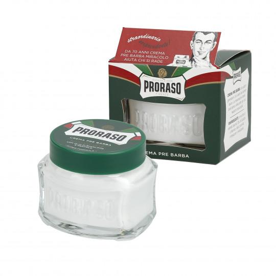 PRORASO GREEN Crema pre rasatura rinfrescante 100ml