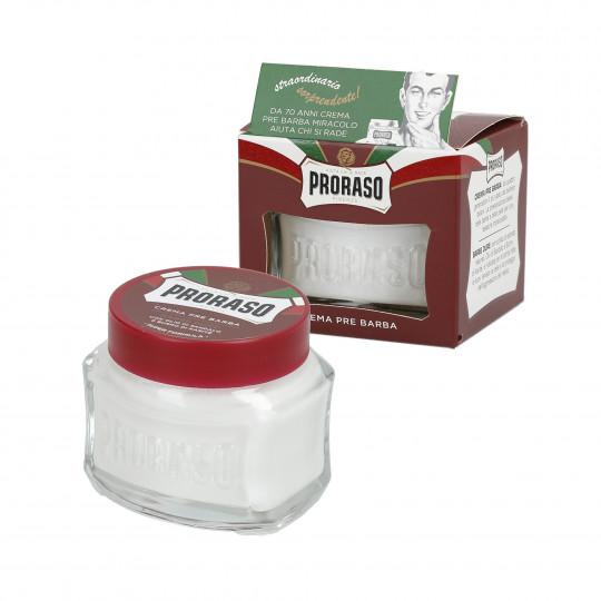 PRORASO RED Crema nutriente pre-rasatura 100ml - 1