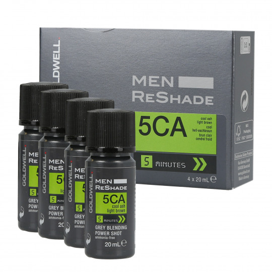 MEN RE-SHADE 5CA 4X20ML
