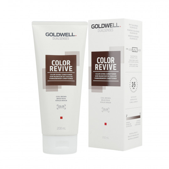 GOLDWELL DUALSENSES COLOR REVIVE Balsamo per capelli Cool Brown 200ml - 1