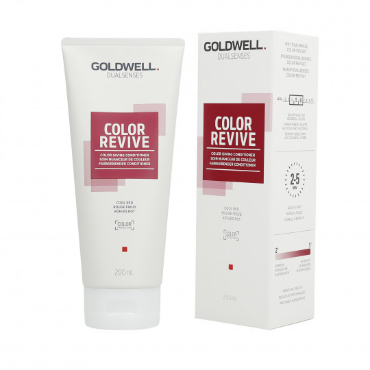 GOLDWELL DUALSENSES COLOR REVIVE Balsamo per capelli Cool Red 200ml - 1