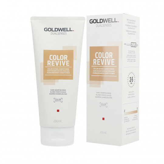 GOLDWELL DUALSENSES COLOR REVIVE Balsamo per capelli Dark Warm Blonde 200ml - 1