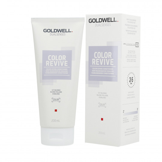 GOLDWELL DUALSENSES COLOR REVIVE Balsamo per capelli Ice Blonde 200ml - 1