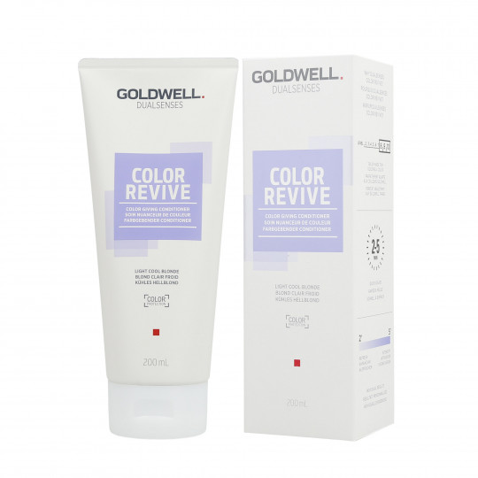GOLDWELL DUALSENSES COLOR REVIVE Balsamo per capelli Light Cool Blonde 200ml - 1