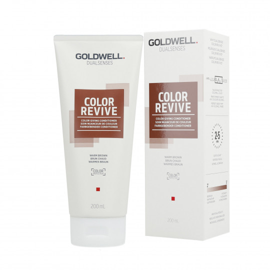 GOLDWELL DUALSENSES COLOR REVIVE Balsamo per capelli Warm Brown 200ml - 1