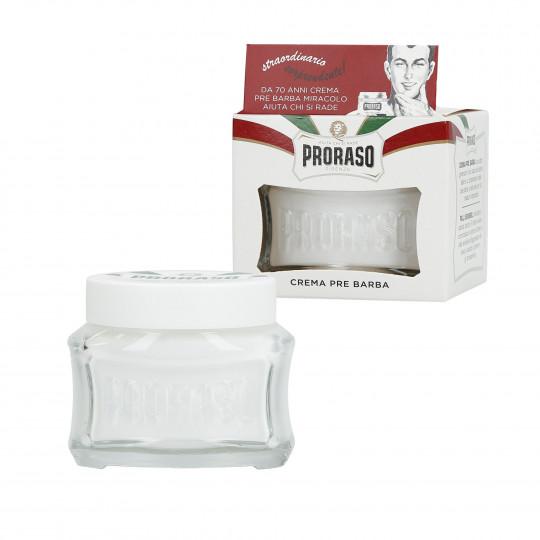 PRORASO WHITE Crema lenitiva pre-rasatura 100ml