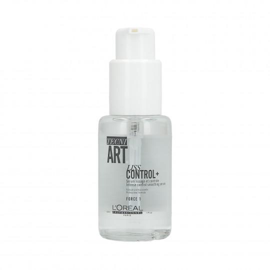 L'OREAL PROFESSIONNEL TECNI.ART Liss Control + Siero lisciante per capelli 50 ml