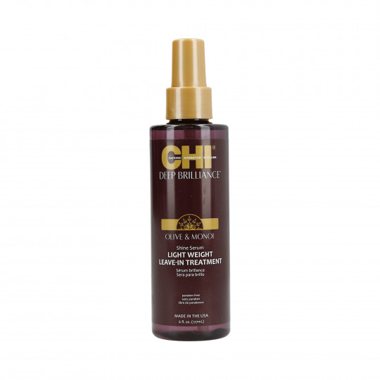 CHI DEEP BRILLIANCE Olive&Monoi Siero per capelli lucidi 177ml - 1