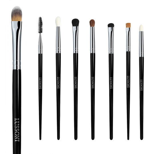 LUSSONI by Tools For Beauty, Smokey Eye - 8 Pezzi Set Pennelli Makeup Professionale - 1