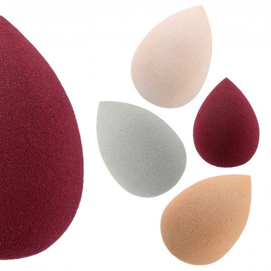 LUSSONI Perfect Coverage 5 Pcs Professional Makeup Sponge Set
