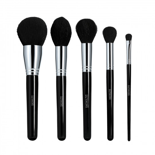 LUSSONI by Tools For Beauty, Makeup Essentials - 5 Pezzi Set Pennelli Makeup Professionale - 1