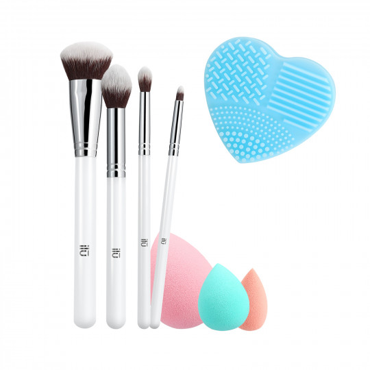 ilū by Tools For Beauty, Perfect Pick Up - Set Pennelli Makeup - 1