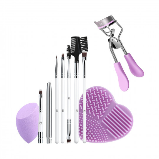 ilū by Tools For Beauty, Purple Pick-up Line - Set Pennelli Makeup - 1