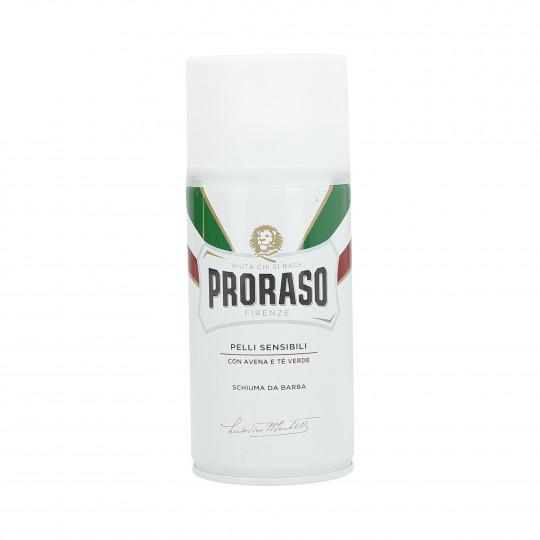 PRORASO WHITE Schiuma da barba lenitiva 300ml