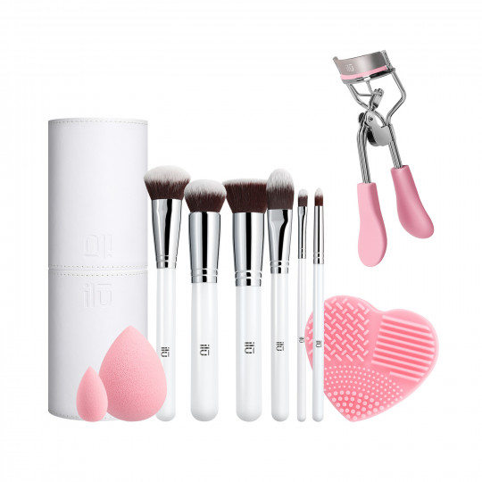 ilū by Tools For Beauty, Pink Is An Attitude - Set Pennelli Makeup - 1