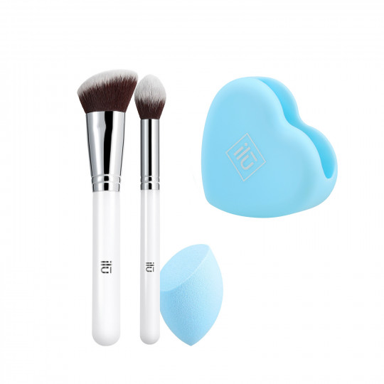 ilū by Tools For Beauty, Out Of The Blue - Set Pennelli Makeup - 1