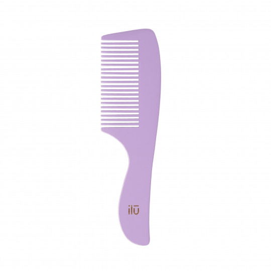 ilū by Tools For Beauty, Pettine in Bambù – Wild Lavender - 1