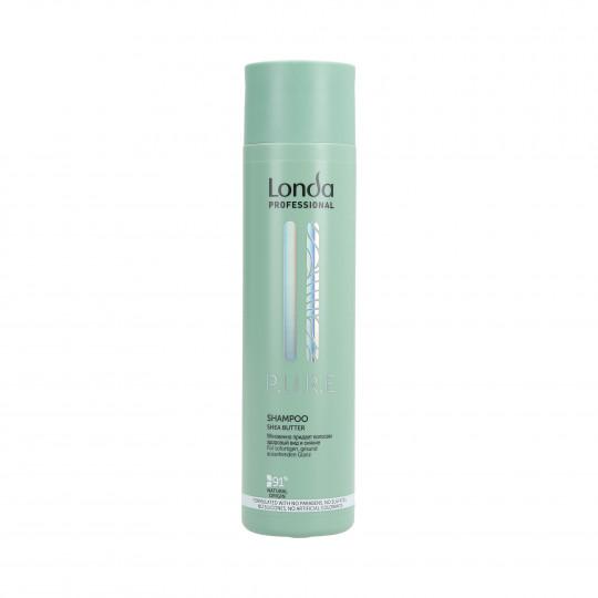 LONDA PURE Shampoo per capelli secchi 250ml - 1