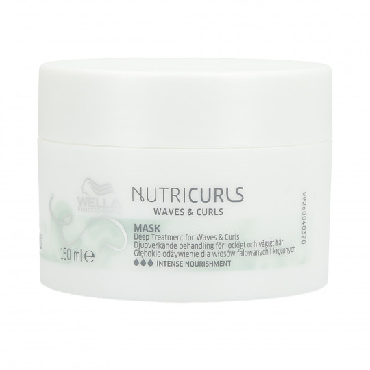 WPC NUTRICURLS MASK 150ML
