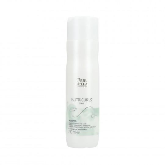 WELLA PROFESSIONALS NUTRICURLS CURLS Shampoo per capelli ricci 250ml - 1