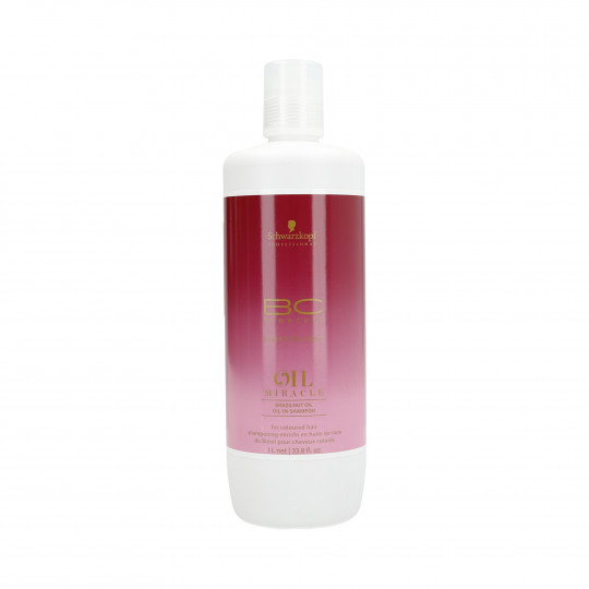 BC OIL MIRACLE BRAZILNUT SHAMPOO 1L