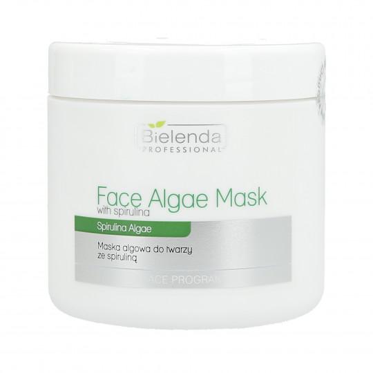 BIELENDA PROFESSIONAL maschera viso alghe con spirulina 190g
