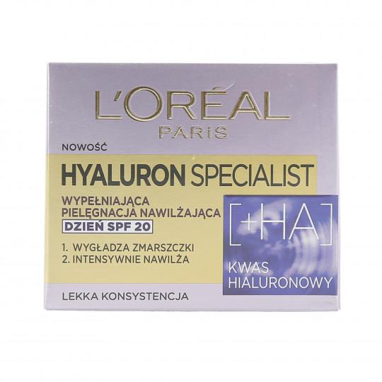 L'OREAL PARIS HYALURON SPECIALIST Crema viso giorno SPF20 50ml - 1